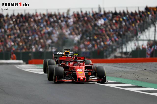 Charles Leclerc und Max Verstappen verewigten sich mit ihrem Kampf in den Formel-1-Annalen
