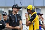 Robert Kubica (Williams) und Daniel Ricciardo (Renault)