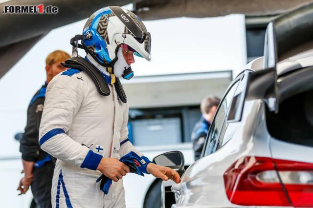 Valtteri Bottas nutzte die Sommerpause der Formel 1 für einen weiteren Rallye-Test. Wir haben die Beweisfotos!