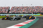 Max Verstappen (Red Bull), Lewis Hamilton (Mercedes) und Lando Norris (McLaren)