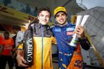 Lando Norris (McLaren) und Carlos Sainz (McLaren)