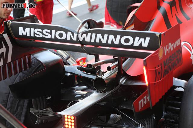 Experiment bei Ferrari: Zwei Wastegate-Röhrchen statt einem