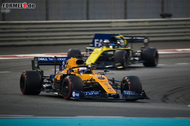 Carlos Sainz (McLaren) und Daniel Ricciardo (Renault)