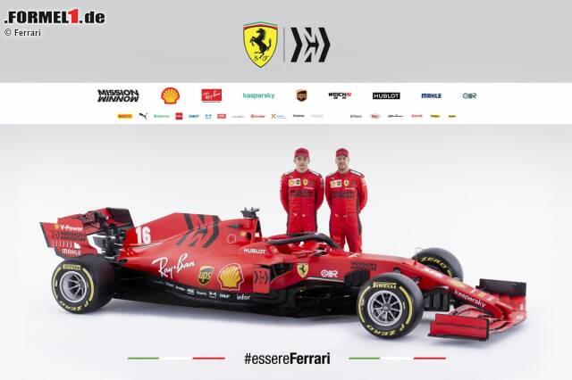 Neue Formel 1 Autos