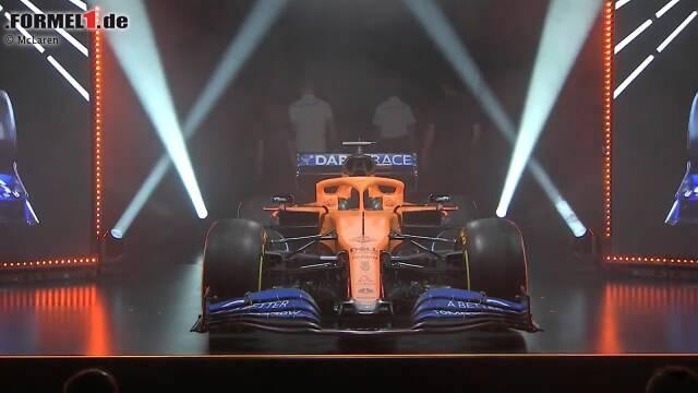 McLaren hat den neuen MCL35 beim Launch in Woking vorgestellt. Jetzt durch die besten Fotos klicken!