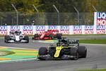 Daniel Ricciardo (Renault), Pierre Gasly (AlphaTauri) und Charles Leclerc (Ferrari)