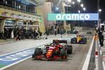 Carlos Sainz (Ferrari) und Lando Norris (McLaren)