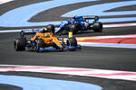 Lando Norris (McLaren) und Esteban Ocon (Alpine)