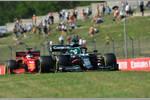 Lance Stroll (Aston Martin) und Charles Leclerc (Ferrari)