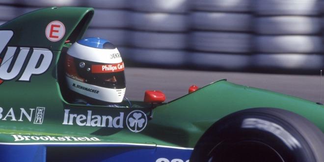 Schumachers Formel-1-Debüt