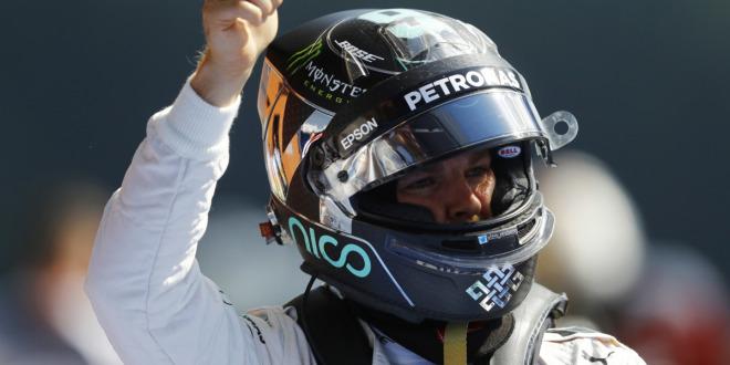 Rosberg auf Pole vor Verstappen