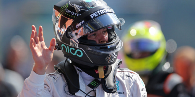 Rosberg in Spa auf Pole