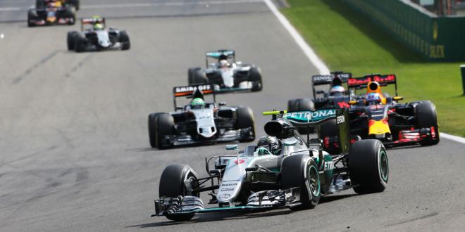 Rosberg triumphiert in Spa