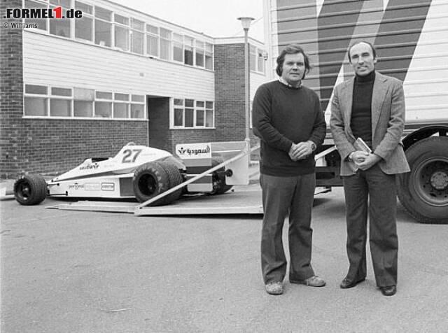 Auf geht's ins Abenteuer Formel 1: Nach zwei erfolglosen Anläufen in der Königsklasse gründen Frank Williams (70 Prozent) und Patrick Head (30 Prozent) ihr eigenes Team. Mit einem March-Chassis steigt man beim Grand Prix von Spanien in die Weltmeisterschaft ein.
