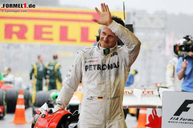 Vollgas - nicht nur auf der Formel-1-Strecke. Auch in seiner Freizeit bestimmt der Sport das Leben von Michael Schumacher.