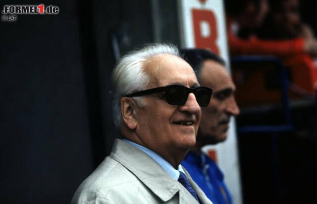 """Mit ihm hat alles angefangen: Enzo Ferrari gründete 1929 die Scuderia Ferrari, die seit Beginn der Formel-1-WM im Jahr 1950 fester Bestandteil ist. Gleich in den ersten Jahren wurden einige Rennleiter verschlissen: Federico Giberti (1950-1951), Nello Ugolini (1952-1955), Eraldo Sculati (1956) und Mino Amorotti (1957). Wahrer Chef war bis zu seinem Tod im Jahr 1988 sowieso immer der """"Commendatore"""", doch es gab Statthalter ..."""