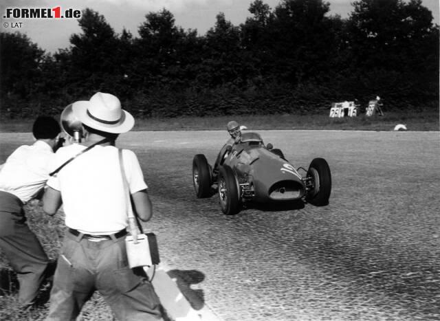1. Alberto Ascari: Der Italiener krönte sich 1952 zum ersten Ferrari-Weltmeister. Nach einer weiteren erfolgreichen Titelverteidigung überlebte er 1955 in Monaco einen Horrorunfall, als er von Tauchern aus dem Hafenbecken geborgen werden musste, verunglückte aber wenige Tage später auf tragische Weise bei Tests in Monza.