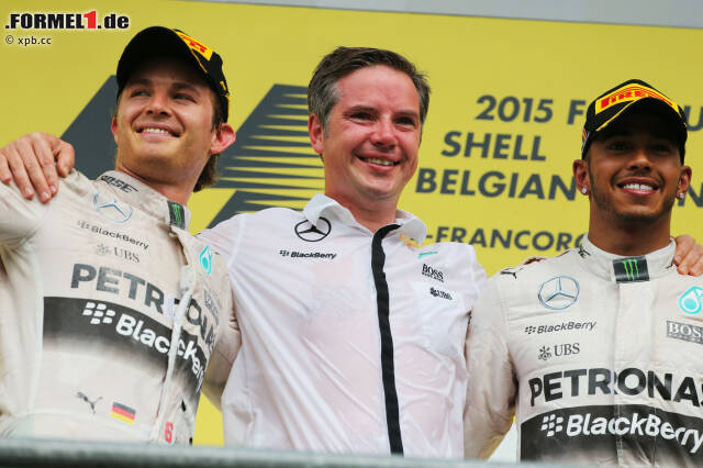 Noch acht Rennen zu fahren, noch 200 Punkte zu vergeben - und jetzt schon 28 Punkte Vorsprung auf Nico Rosberg: Lewis Hamilton rückt seinem großen Traum, dem dritten WM-Titel (genauso viele hat sein großes Idol Ayrton Senna gewonnen), beim Grand Prix von Belgien einen weiteren Schritt näher.