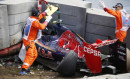 Horror-Crash von Carlos Sainz