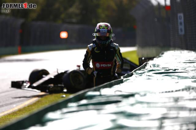 """Nach fünf Jahren in der Formel 1 muss Pastor Maldonado gehen. Renault will den Crashpiloten, der offenbar keine PDVSA-Millionen mehr mitbringt, nicht als Werksfahrer. Sein Vermächtnis sind Unmengen von Kleinholz, denkwürdige Crashes und eine Fanwebseite der ganz besonderen Art. Wir blicken zurück auf die spektakulärsten Unfälle von """"Crash-o-nado""""."""