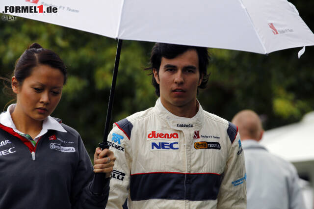 Platz 6: Sergio Perez (134 Starts, 7 Podestplätze, seit 2011)