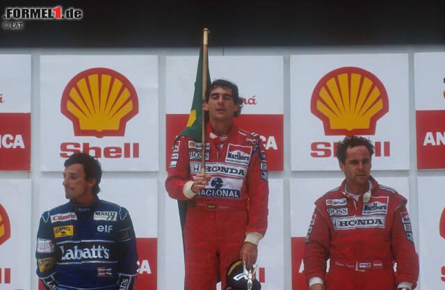 Wer über Brasilien spricht, der spricht über Ayrton Senna. 41 Siege holte der dreimalige Weltmeister in seiner Karriere, und wohl kaum ein anderer ist so berühmt wie sein erster Triumph vor seinen heimischen Fans im Jahr 1991. Wir schauen uns den Ort seines vielleicht größten Sieges einmal ganz genau an.