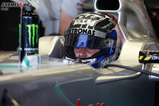 Sam Bird (29 Jahre, Großbritannien):Als Fahrer im damals inoffiziellen Nachwuchskader von Mercedes hatte Sam Bird in den Jahren 2010 bis 2013 beste Aussichten auf den Sprung in die Formel 1. Bei seinen Testeinsätzen im Silberpfeil überzeugte der Brite, im Team wurde ihm als Simulator- und Entwicklungspilot viel Verantwortung übertragen.
