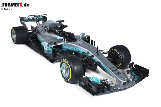 Mercedes-Benz F1 W08 EQ Power+