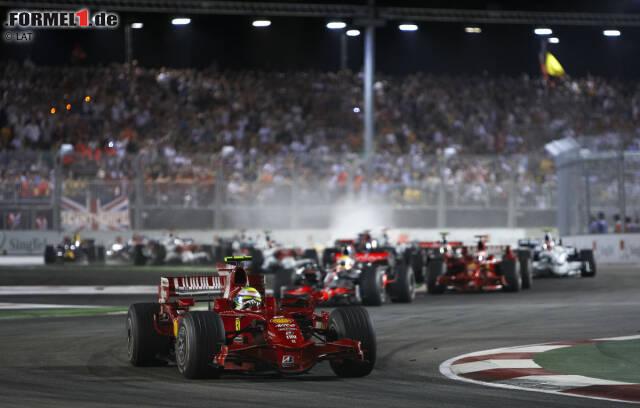 Bereits zum zehnten Mal findet der Große Preis von Singapur im Rahmen der Formel-1-Weltmeisterschaft statt. Seit 2008 wurde das Rennen in jedem Jahr abgehalten.