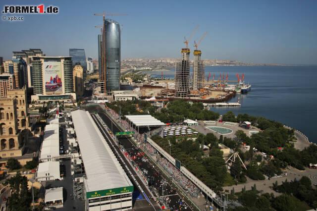 Baku Strecke