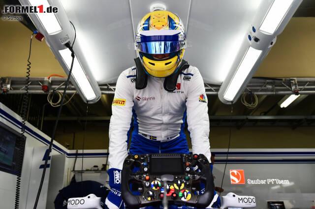 10. Marcus Ericsson - 76 Rennen: Der Schwede steigt 2014 mit Caterham in die Formel 1 ein. Dort bleibt er - ebenso wie in den drei folgenden Jahren bei Sauber - ohne Podestplatz. In 76 Anläufen schafft er es außerdem lediglich fünfmal in die Punkte. Bestes Ergebnis: Platz acht in Melbourne 2015.
