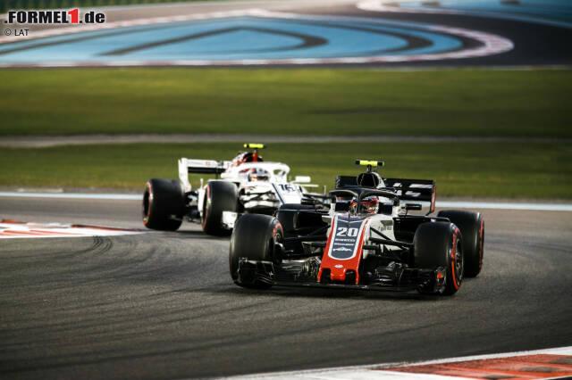 Kevin Magnussen (4): Im Vergleich zu Grosjean hat er zwar das gelassenere, aber eben auch das langsamere Rennwochenende abgeliefert. 2018 war Magnussens bestes Jahr in der Formel 1. Das gilt aber mehr für die ersten als für die letzten Rennen.