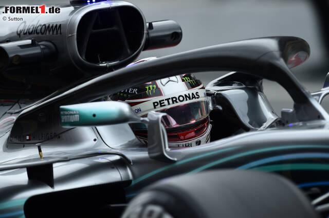 Halo ist in der Formel 1 angekommen - und wird von den Teams natürlich gleich als aerodynamisches Hilfsmittel missbraucht. Schon am ersten Testtag lassen sich unterschiedliche Design-Lösungen zeigen, die beweisen, dass Halo mehr als nur ein Kopfschutz ist. Auf die einfachste Variante setzt bislang Mercedes ...