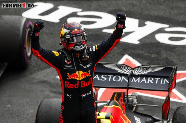 2. Max Verstappen - Letzter Sieg: Großer Preis von Mexiko 2018 für Red Bull