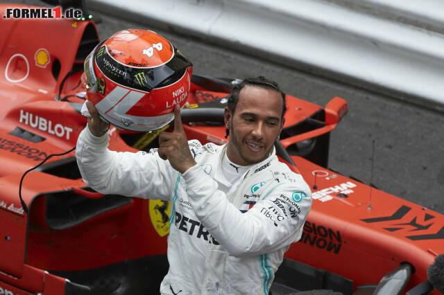 1. Lewis Hamilton - Letzter Sieg: Großer Preis von Monaco 2019 für Mercedes