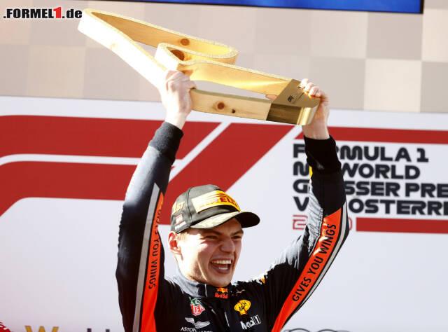 2. Max Verstappen - Letzter Sieg: Großer Preis von Österreich 2019 für Red Bull