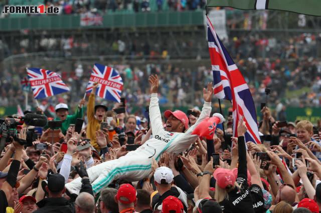 1. Lewis Hamilton - Letzter Sieg: Großer Preis von Ungarn 2019 für Mercedes