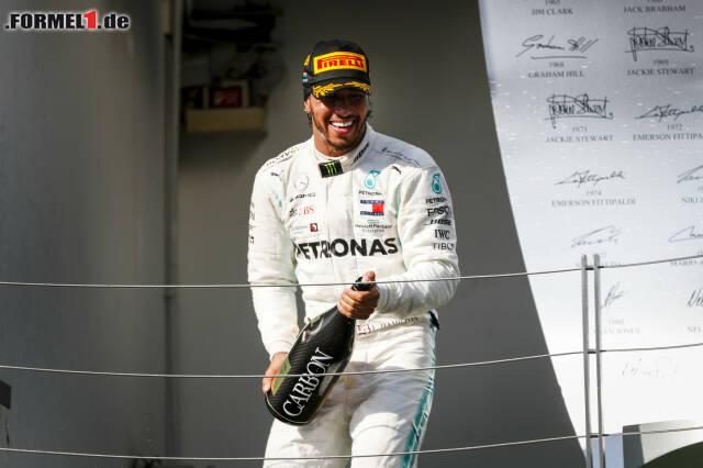 2. Lewis Hamilton - Letzter Sieg: Großer Preis von Russland 2019 für Mercedes