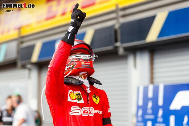 1. Charles Leclerc - Letzter Sieg: Großer Preis von Monza 2019 für Ferrari