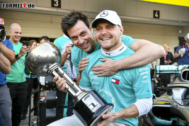 1. Valtteri Bottas - Letzter Sieg: Großer Preis der USA 2019 für Mercedes