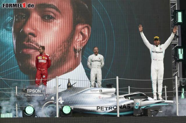 1. Lewis Hamilton - Letzter Sieg: Großer Preis von Abu Dhabi 2019 für Mercedes
