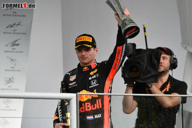 1. Max Verstappen - Letzter Sieg: Großer Preis von Brasilien 2019 für Red Bull