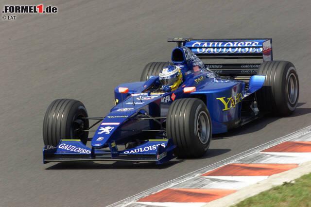 2000: Prost-Peugeot AP03 - 16 Rennen, 0 Punkte, WM-Rang 20