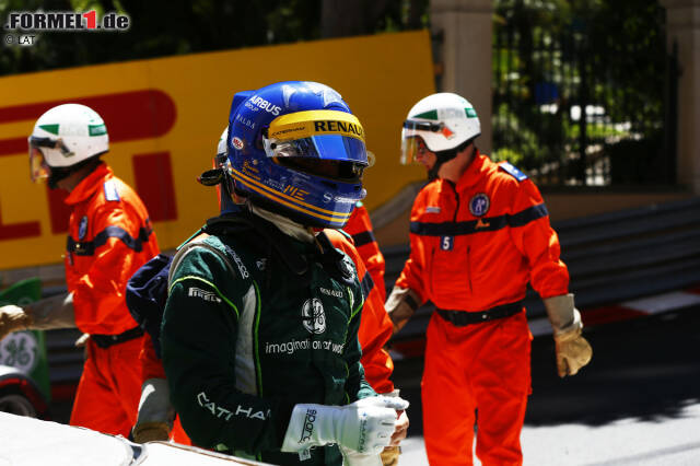Was die Erfolge angeht, läuft Marcus Ericsson seinem Landsmann Ronnie Peterson bisher noch klar hinterher. Da bringt ihm 2014 in Monaco auch das Helmdesign des zweimaligen Vize-Weltmeisters kein Glück. Als Elfter verpasst er die Punkte im Caterham ganz knapp.