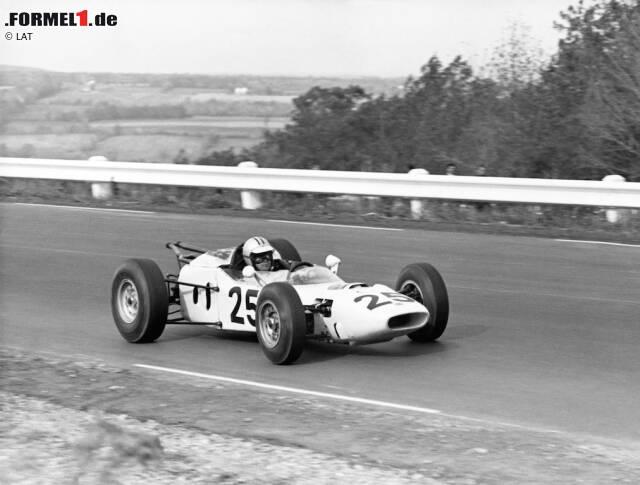 Honda-Werksteam (1964-1968): 2 Siege, 1 Pole-Position, 5 Podestplätze