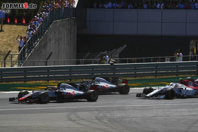 Romain Grosjean (6): Irgendwann reicht's dann sogar Günther Steiner. Der Haas-Chef hat Grosjean lange in Schutz genommen, aber dass er in Silverstone wieder ausgerechnet den Teamkollegen unnötig berührt hat, bringt selbst den sonst pragmatischen Südtiroler aus der Fassung. Den stupiden Crash am Freitag wollen wir nicht unterschlagen.