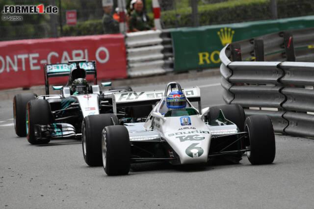 Das gab es noch nie: Keke und Nico Rosberg sind erst das zweite Vater-und-Sohn-Paar, dass einen Formel-1-Titel vorzuweisen hat. In ihrer Wahlheimat Monaco fahren sie zum ersten Mal gemeinsam auf die Strecke.
