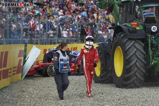 Wie wäre die Formel-1-WM 2018 ohne die Fehler von Sebastian Vettel und Ferrari gelaufen? Wir haben Rennen für Rennen nachgerechnet. Und sind zu einem erstaunlichen Ergebnis gekommen ...