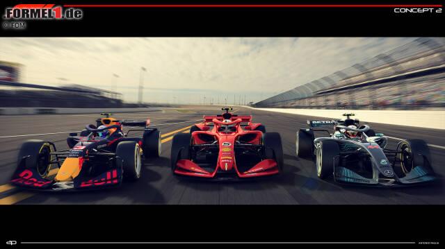 Die Formel-1-Konzepte für die Saison 2021 versprechen eine aggressivere Optik