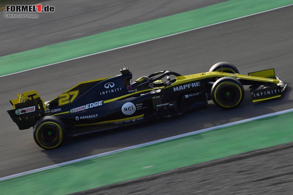 Die Formel-1-Saison 2019 nimmt Fahrt auf! Beim Auftakt der Wintertests in Barcelona gingen neun von zehn Teams erstmals auf die Strecke. Nur Williams fehlt noch. Hier sind die ersten Fahrbilder der Neuwagen!